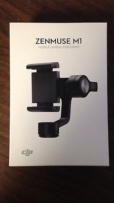 """DJI ZM01 Zenmuse M1 Mobile Gimbal for Osmo Grips, Holds 2.3-3.3"""" Wide Smartphone"""
