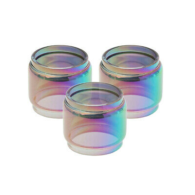 SMOK02 TFV12 Prince 8ml Rainbow Replacement Extended Bulb Glass (3 Pieces)