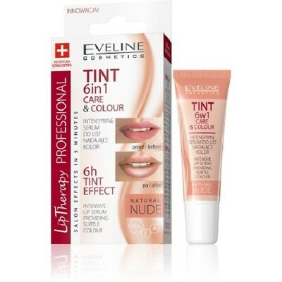 Eveline Lip Therapy 6in1 Care&colour Lippenserum Lip Balm Lip Care