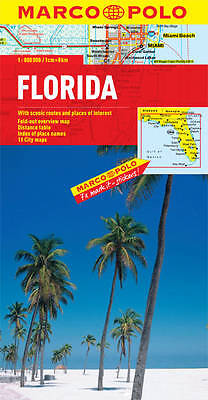 Florida Map - New - Marco Polo - Current Edition  - Zoom System - 2017