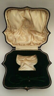 Fabulous and rare, vintage possibly antique Mappin & Webb Ltd presentation box.