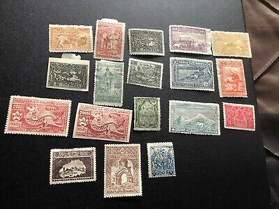 armenia good stamps perf and imperf collection aa1837