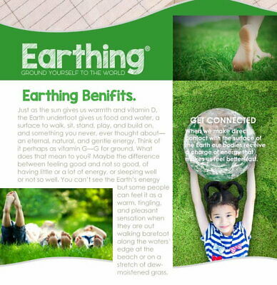 New! Earthing / Grounding Sheet Pillow Case 50*75CM SHIELD EMF Healing / 5G Wifi