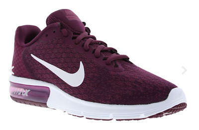 NIKE AIR MAX Sequent 2 Trainers- berry UK 7.5 EU 42 JS49 29 - EUR 87 ... b87158878