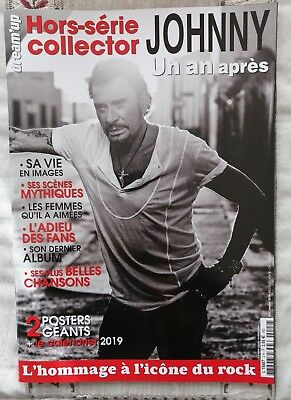 Johnny Hallyday Magazine Hors-Serie Collector Calendrier 2019+2 Posters Neuf