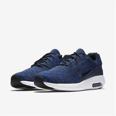 Nike Air Max Modern FLYKNIT Mens Athletic Shoes College Navy  College Navy  10 U b0b6f5fa5