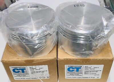 CT Pistons for Lycoming 75089 F P10 & STD Combustion Technologies ASC75089