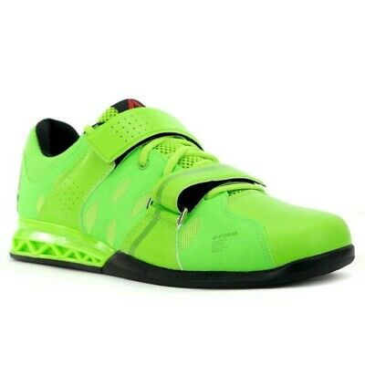 70aab6a0f6b84a Reebok Men s Crossfit Lifter Plus 2.0 Green Green Training Shoes Mens size  8.5