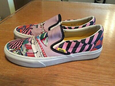 635802c448 The Beatles Vans Sea Of Monster Yellow Submarine Men 8.5 Women 10 Canvas  Shoes