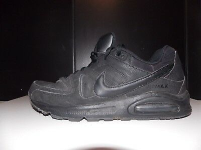 super popular 6a16b d8127 Nike Air Max Command Leather Triple Black Gr 47 us 12,5