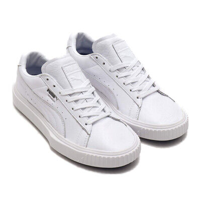 797caff9c036 PUMA BREAKER LOW Top Suede Mens Grey White Lace Up Trainers 366625 ...