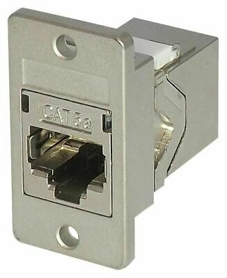 Coupler Panel Mount Cat5E Shielded - Fack2Spm