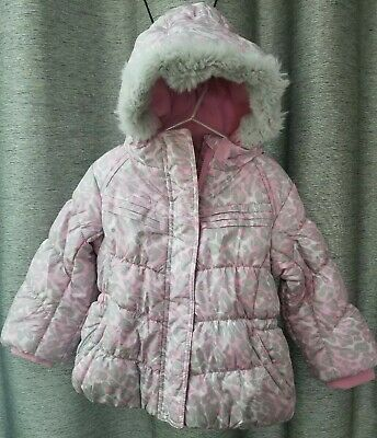 238b7752ac5c NWT ZEROXPOSUR TODDLER girl winter jacket with scarf mittens pink ...
