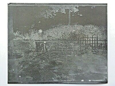Western Stoneware Monmouth .  - Printing Plate of Formal Garden  . 1930 Catalog