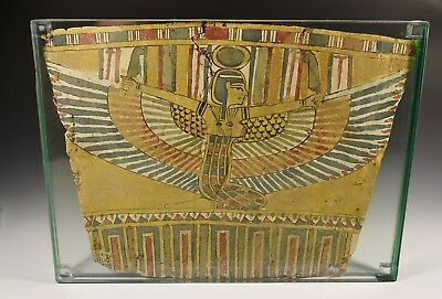 Egyptian Cartonnage Chest Piece