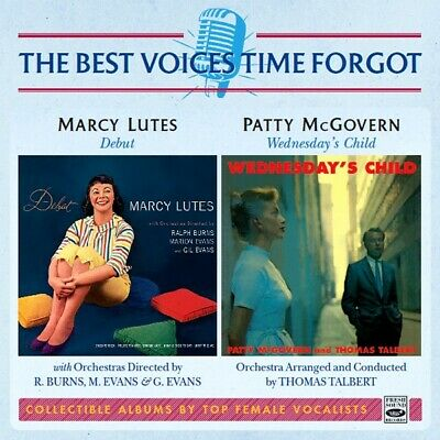 Marcy Lutes & Patty McGovern  / Debut + Wednesday's Child (2 LP on 1 CD)