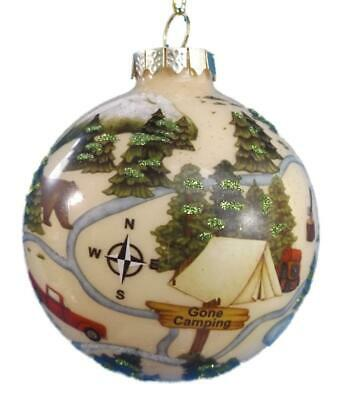 New Heirloom Ornament Outdoorsman Gone Fishing Christmas Tree