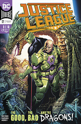 JUSTICE LEAGUE #17 1st Print (WK06.19) (W) Scott Snyder (A) Mark Morales