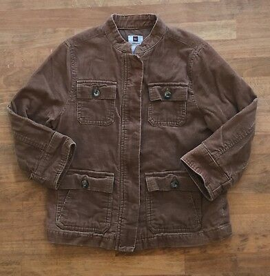 82b83690a47b GYMBOREE TODDLER BOYS Quilted Corduroy Coat Winter Brown Jacket Size ...