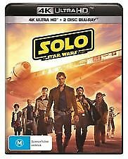 Solo - A Star Wars Story 4K UHD  (Blu-ray, 2018, 3-Disc Set) NEW & SEALED
