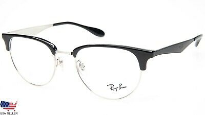 654e9985dc NEW Ray Ban RB6396 2932 TOP BLACK On SILVER EYEGLASSES GLASSES RB 6396 51-19