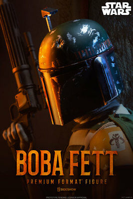 Boba Fett Premium Format Figurine Statue Star Wars de Collection Sideshow