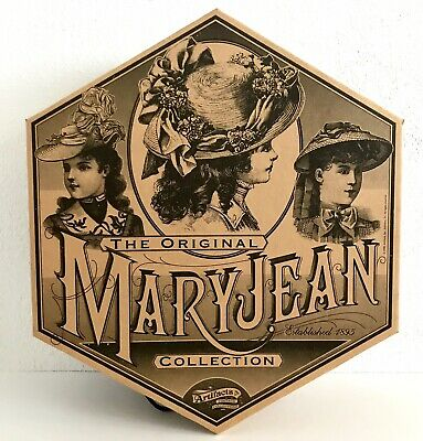 "Large Hat Box MaryJean Vintage Collection Est. 1895 Artifacts Inc. 18"" NOS"