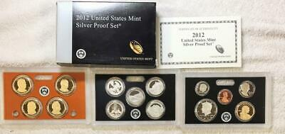 2012  U.s. Mint Silver Proof Set   Scarce  Set