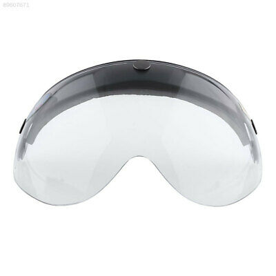 FF30 Motorcycle Biker Helmet 3-Snap Visor lens Wind Shield Sunshade Down Clear