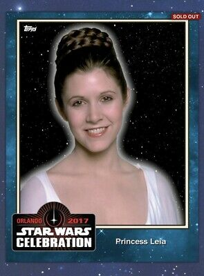 Star Wars Card Trader - Celebration 2017 Variant - Award - Princess Leia