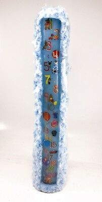 15 Tall Blue Birthday Candle FIRST 21 YEARS 1 Textured Detail NEW