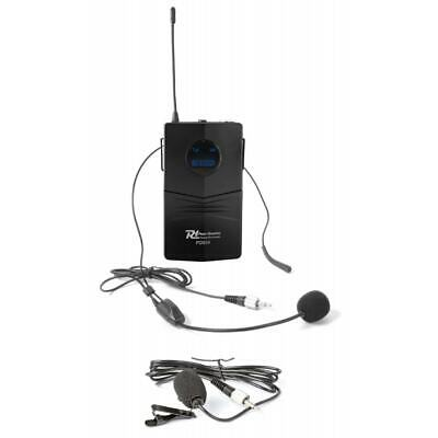 Wireless Bodypack Microphone for PD504 Systems w/ Lapel + Beige Headset Mic
