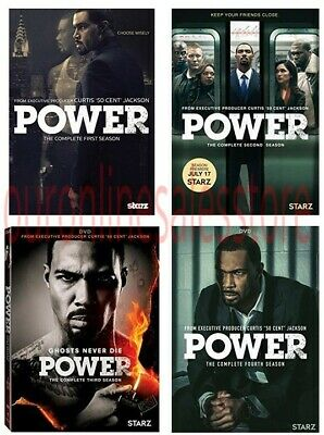 Power The Complete All 1-4 Seasons DVD Set TV Series DVD Set Collection Episodes
