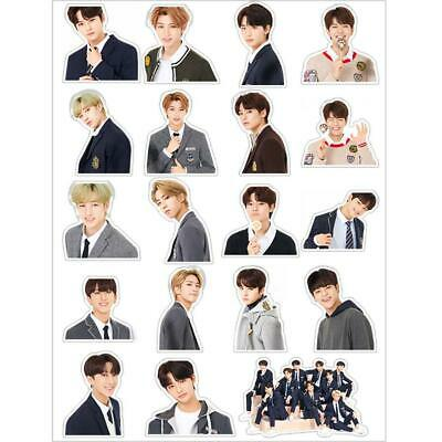 Kpop Stray Kids Cute Photo Sticker for Luggage Scrapbook Laptop Stickers DIY