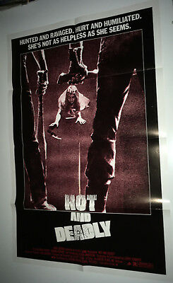 4da8f55c97a HOT and DEADLY Original Movie Poster 1983 Revenge Horror RETRIEVERS
