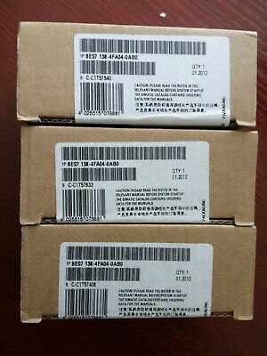 Siemens 6ES7138-4FA04-0AB0 6ES7 138-4FA04-0AB0 New In Box 1PCS