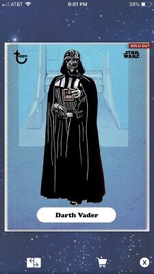 Star Wars Card Trader - Classic Art Series 2 - Blue - Award - Darth Vader