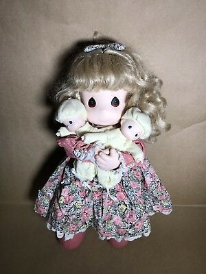 """1996 PRECIOUS MOMENTS Susan & Twins 15"""" Doll - Mommy I Love You Series 5th ED."""