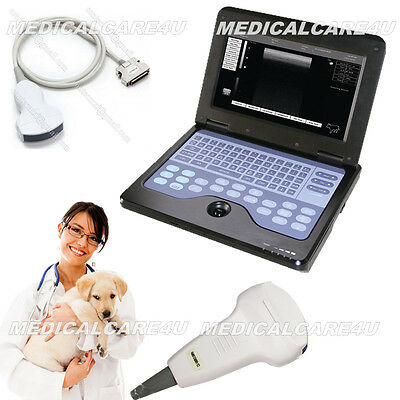 VET Veterinary Ultrasound scanner Laptop Machine with 3.5Mhz Convex Probe