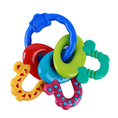 New Baby Teether Molar Toothbrush Training Tooth Chewing Toddler Bell BS