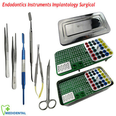 Dental Endodontics Endo Box Dentis Implantology Surgical use for Lid Surgery kit