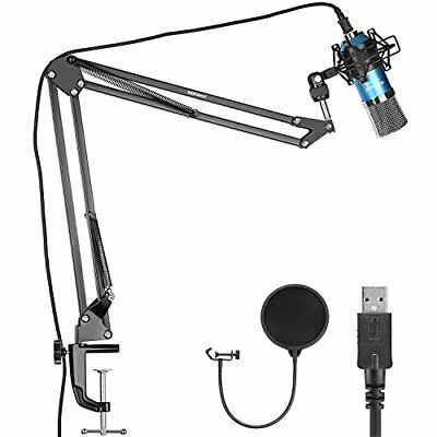 Neewer condenser microphone kit Blue Silver NW-7000 USB professional st... JAPAN