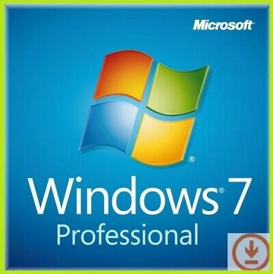 Windows 7 pro key 32/64bit Sp1 Professional  - LIFETIME - Instant Email delivery