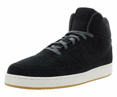 Nike Court Borough Mid Prem Mens Athletic Shoes Black Anthracite Sail 10.5  US   3cd0e250013