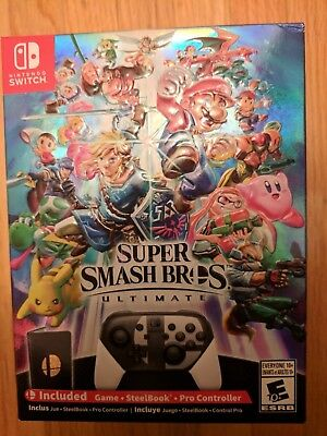 Super Smash Bros Ultimate Special Edition for Nintendo Switch New