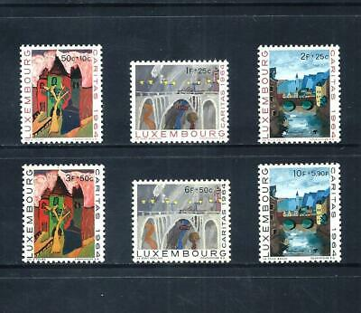 LUXEMBOURG _ 1964 'WELFARE FUND' SET of 6 _ mnh ____(570)
