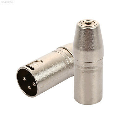 D0A3 3.5mm To XLR Male To Female Universal Audio Adapter Stereo Studio Gear MP3