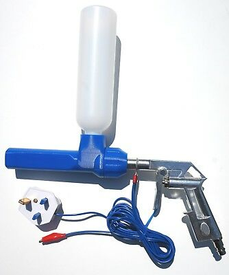 NordicPulver NP-09-UK powder coating gun system for Hobby user or small business
