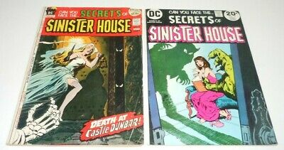 Secrets of Sinister House 5 15 Comic LOT DC 1st Print First Horror Dick Giordano