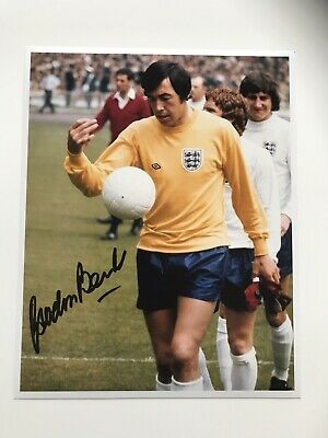 England 1966 World Cup Signed Gordon Banks